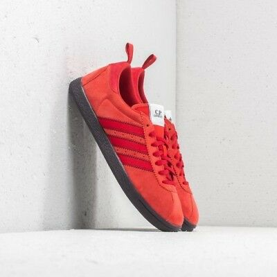 3e890357f3f4 Adidas Originals Tobacco C.P Company Red Suede UK 10.5 Casuals Gazelle OG  City