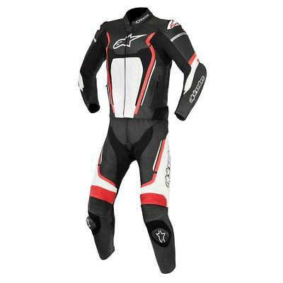 Alpinestars Motegi V2 Two Piece Leather Suit Black / White / Red
