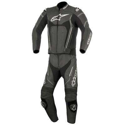 Alpinestars Motegi V2 Two Piece Leather Suit Black / Anthracite / White