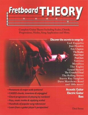 Fretboard Theory, Paperback by Serna, Desi, Like New Used, Free shipping in t...