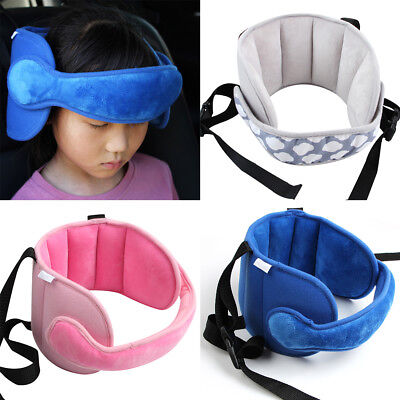 Seat Sleep Safety Car Aid Head Fasten Support Belt Fixing Band for Kids Child