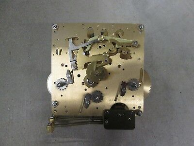 Hermle Westminster Chime Wall Clock Movement 351-021 26.5cm Working Condition Q