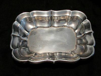 Vintage Reed & Barton WINDSOR X957 Solid Sterling Silver BON BON Dish Pin Tray