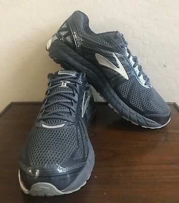 15609cf4045 Brooks Beast 16 Size 14 Extra Wide 4E Men s Running Shoes Black Gray  1102271D017