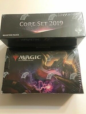MTG Core Set 2019 Booster Box *Factory Sealed* Magic The Gathering