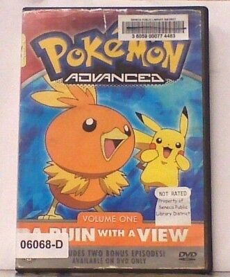 DVD Movie POKEMON ADVANCED VOLUME 1 : A RUIN WITH A VIEW  in Original Jacket