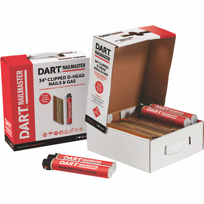 Dart Nailmaster 50,64,75 & 90Mm Collated Nails 1St Fix Galv Paslode Firmahold