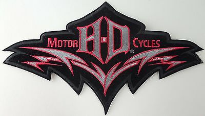 "Harley Davidson ""Laser Cut"" Embroidered Patch"