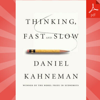 Thinking, Fast and Slow By Daniel Kahneman  | Fast eDelivery [PDF-2019]