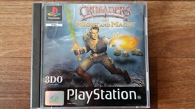 Playstation PSX PS1 Spiel Crusaders of Might and Magic aus meiner Sammlung