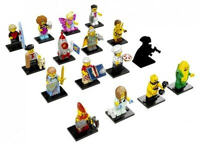Lego SERIE 17 TORSE TÊTE JAMBE PERSONNAGE Minifigure Torso Heads Lot 71018 NEW !