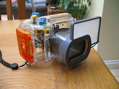Cannon A620 With Underwater Scuba Diving Housing