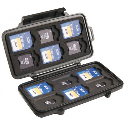 NEW Pelican  Memory Card Case 0915 - in Black - Equipment Cases -  Electronics