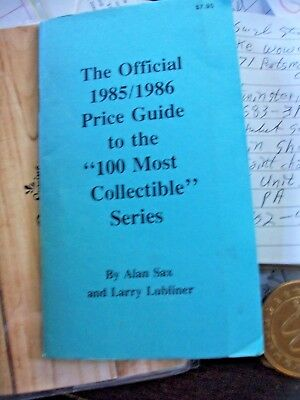 Official Price guide to slotmachines, trade stimulators 1985/1986 Alan Sax/