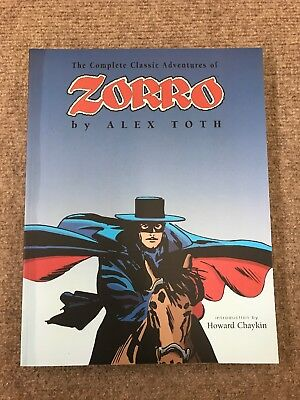 The Complete Classic Adventures of Zorro by Alex Toth Paperback