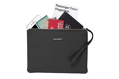 NEW Samsonite Promenade  Ladies Rfid Large Coin Purse Black -  Wallets & Money