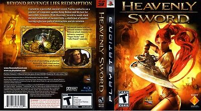 Sony Ps3 Replacement Game Case and Cover Heavenly Sword