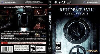 Sony Ps3 Replacement Game Case and Cover Resident Evil: Revelations