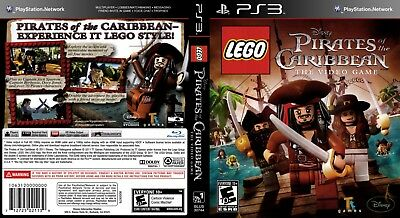 Sony Ps3 Replacement Game Case and Cover Lego Pirates of the Caribbean
