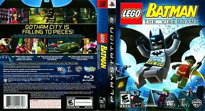 Sony Ps3 Replacement Game Case and Cover Lego Batman: The Video Game