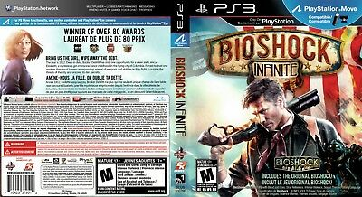 Sony Ps3 Replacement Game Case and Cover Video Game Case BioShock Infinite
