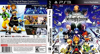 Sony Ps3 Replacement Game Case and Cover Video Game Case Kingdom Hearts HD 2.5 R