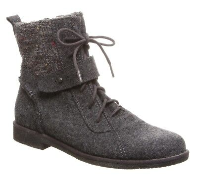 Bearpaw Women's Gramercy Boot Charcoal Size 5