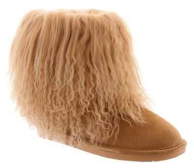 Bearpaw Women's Boo Boot Wheat Size 8