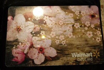 Collectible Walmart Gift Card - Cherry Blossoms - No Value