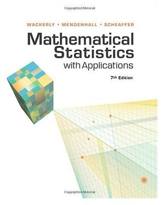 Mathematical Statistics with Applications by Wackerly 7 Edition eBOOK PDF