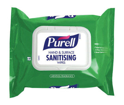 Purell Hand and Surface Sanitising Wipes - Flowpack - 40 Wipes