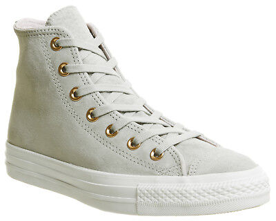 7d8a895f9307 WOMENS CONVERSE GREY Suede Lace Up Trainers Size UK 6  Ex-Display ...