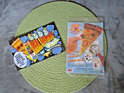 Pizza Head Cool Clings&Real Heroes Activity Booklet from Pizza Hut 1995