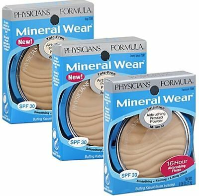 Physicians Formula Mineral Wear Airbrushing Pressed Powder ~Choose From 3 Shades