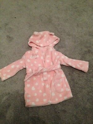 Baby Dressing Gown / House Coat 6-9 Months