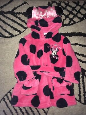 3-6 Month Minnie Mouse Dressing Gown