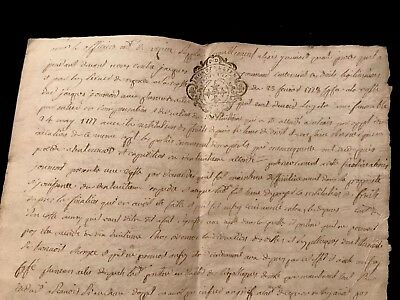 1778 Handwritten Autographed Document on Paper