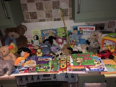 Pre School Toys, Books And Soft Toys Job Lot