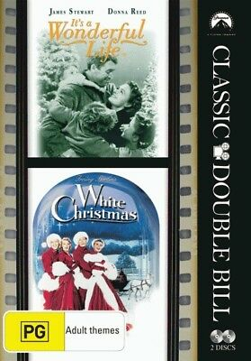 It's a Wonderful Life / White Christmas = NEW DVD R4