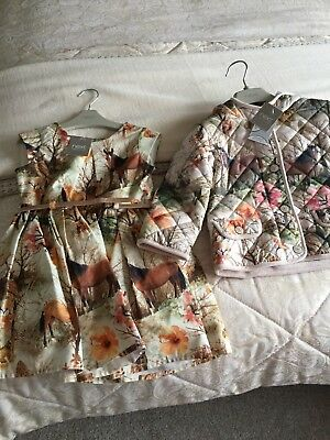 BNWT girls age 1-2 Jacket And Dress from Next