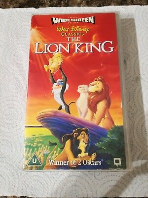 The Lion King - VHS
