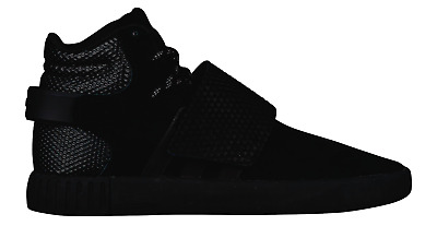 newest 64dcb 8bf35 Mens ADIDAS TUBULAR INVADER STRAP Black Suede Trainers BB1398