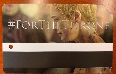 Game Of Thrones Cersei Lannister Limited Edition metrocard