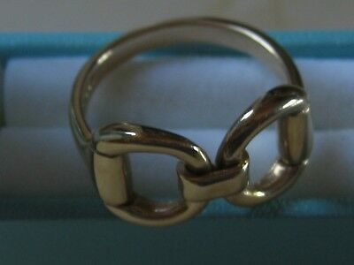 c26a076f00 COUNTY EQUESTRIAN 9CT YELLOW GOLD SNAFFLE HORSEBIT RING rrp £325