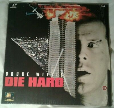 Die Hard. Widescreen. Laserdisc laser disc.