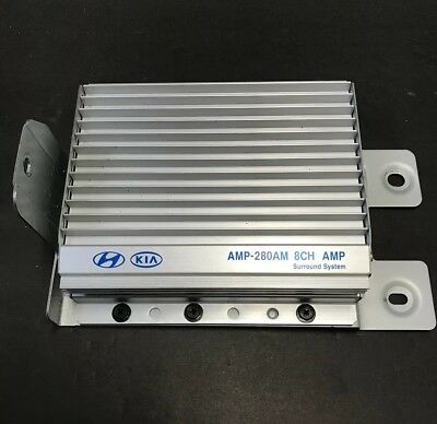 2010-2011 Kia Soul Stereo 8 Channel Amplifier Amp-280Am 96370-2K000 Tested