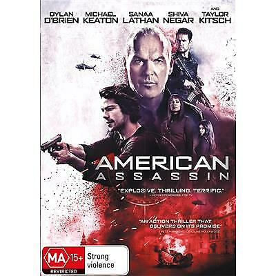 American Assassin DVD 2017 MA 15 + / Buy 4 or more DVD's = We Refund Postage