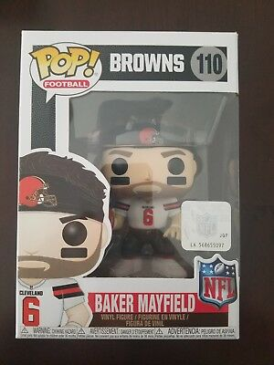 Funko NFL Cleveland Browns Baker Mayfield POP!Figure #110 IN HAND READY TO SHIP