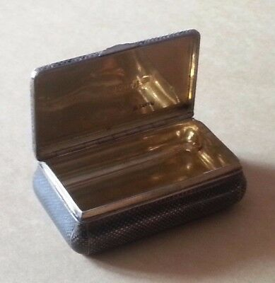 ANTIQUE RUSSIAN IMPERIAL SOLID SILVER GILT NIELLO SNUFF BOX MOSCOW 1859, 99 gr