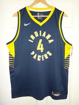 buy popular 7b191 5dac7 YOUTH NIKE VICTOR Oladipo #4 Indiana Pacers Navy Swingman Jersey - Icon  Edition